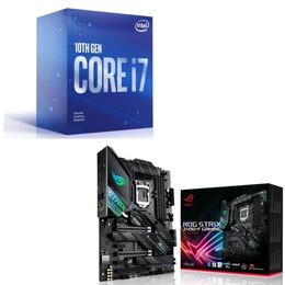 Intel Core i7 10700F BOX + ASUS ROG STRIX Z490-F GAMING セット