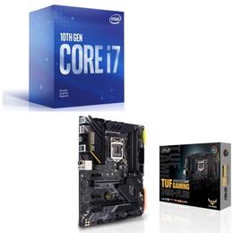 Intel Core i7 10700F BOX + ASUS TUF GAMING Z490-PLUS セット