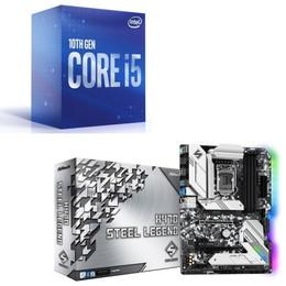 Intel Core i5 10600 BOX + ASRock H470 Steel Legend セット