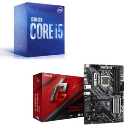 Intel Core i5 10500 BOX + ASRock H470 Phantom Gaming4 セット