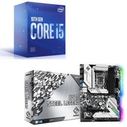 Intel Core i5 10400F BOX + ASRock H470 Steel Legend セット