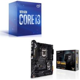 Intel Core i3 10100 BOX + ASUS TUF GAMING H470-PRO セット