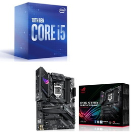 Intel Core i5 10400 BOX + ASUS ROG STRIX B460-F GAMING セット