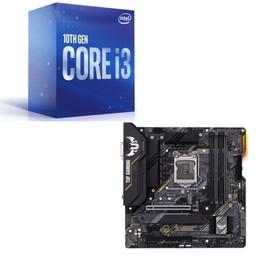 Intel Core i3 10100 BOX + ASUS TUF GAMING B460M-PLUS セット