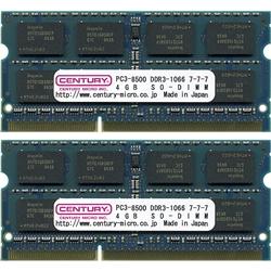 CK4GX2-SOD3U1066 [SODIMM DDR3 PC3-8500 4GB 2枚組]