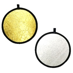 REF CIRCLE 60CM GOLD/SILVER