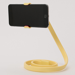 M079-1-PHONE-STAND-YL(イエロー)(NT)