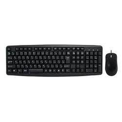 USB Pure Keyboard & Mouse SCY-2IN1-BK (ブラック)