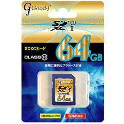 Good-J G-SDXC64-C10U1 [64GB]