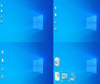 Windows 10でデスクトップ上のアイコンや文字の大きさを変える方法
