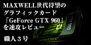 GeForce GTX 960�𑬍U���r���[