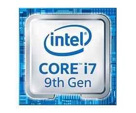第9世代インテルCoreプロセッサー搭載