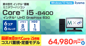 STYLE-M1B6-i5-UH [Windows 10 Home]65980
