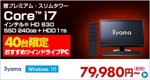 Miyabi-EJ3S-i7K-HNR-L [Windows 10 Home]