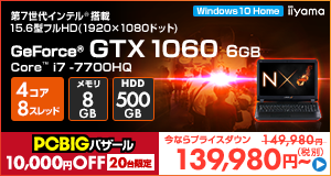 LEVEL-15FX093-i7-RNF [Windows 10 Home]139980
