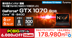 LEVEL-15FR100-i5-TNS [Windows 10 Home]178980