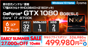 LEVEL-17FG110-i7K-WNRVI [Windows 10 Home]499980
