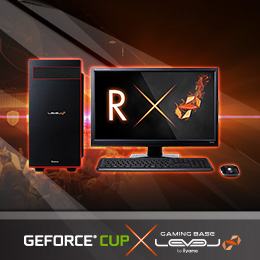 GeForce CUP推奨パソコン販売開始!