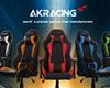 AKRacing 人間工学に基づいた革新的なゲーミングチェア