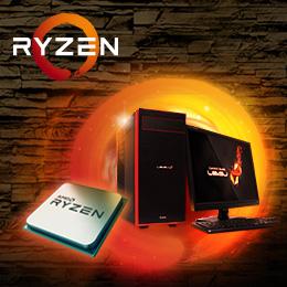 前世代より大幅パフォーマンスアップ!最新プロセッサー「AMD RYZEN™ 7」販売開始!