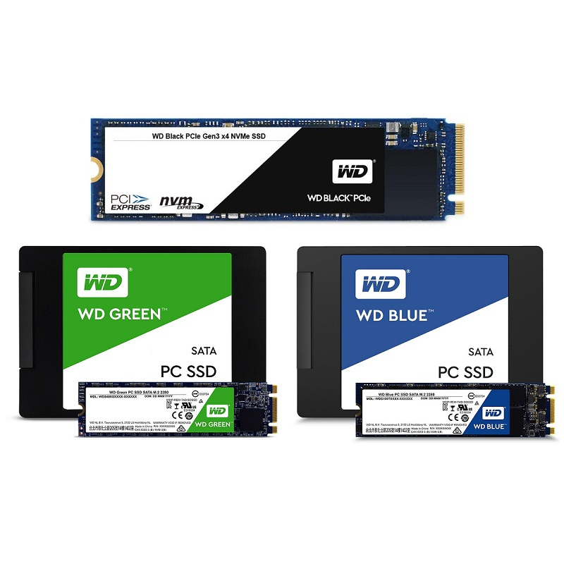 『Western Digital製』SSD各種販売中!