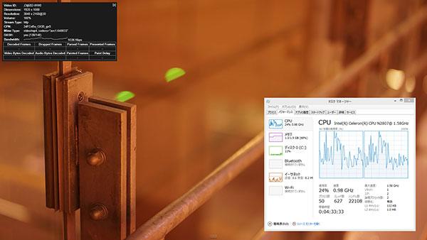 4K(2160p 30fps) フルHDの約4倍の解像度となる次世代の規格です。