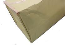 箱の材質が弱い、柔らかい