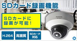 SDカード録画機能セキュリティカメラ