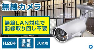無線セキュリティカメラ