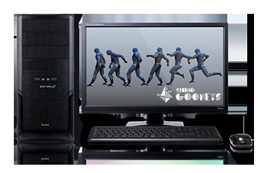 Mayaアニメーター向けパソコン