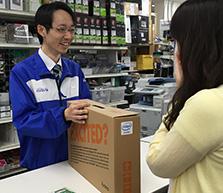 初めての方でも安心!購入したiiyamaPCを店舗スタッフがサポート!