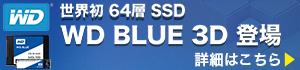 ウエスタンデジタル「WD BLUE 3D SSD」