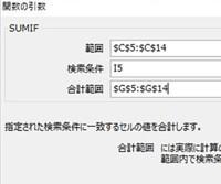 エクセル SUMIF関数をマスターする