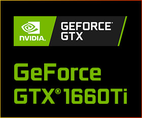 NVIDIA GeForce GTX1660Ti搭載