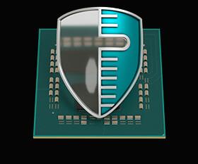 ビジネスに安心をもたらすセキュリティー・ガード機能「AMD GuardMIテクノロジー」を搭載