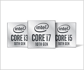 デスクトップ向け第10世代インテルCoreプロセッサーを搭載可能