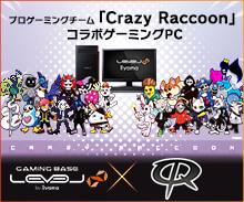 Crazy Racoon コラボゲーミングPC