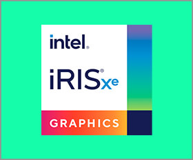 LEVEL∞やSENSE∞ではインテル Iris Xe グラフィックス搭載