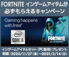 FORTNITE インゲーム ・ アイテムが 必ずもらえるキャンペーン