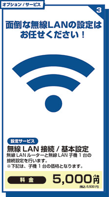 無線LAN接続 / 基本設定