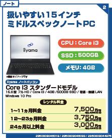 Core i3 スタンダードモデル