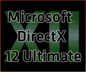 Microsoft DirectX 12 Ultimate