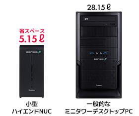 インテル® CPU搭載ハイエンドNUCについて