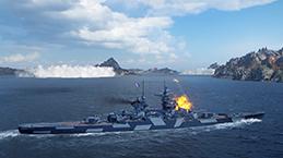 World of Warships スクリーンショット1