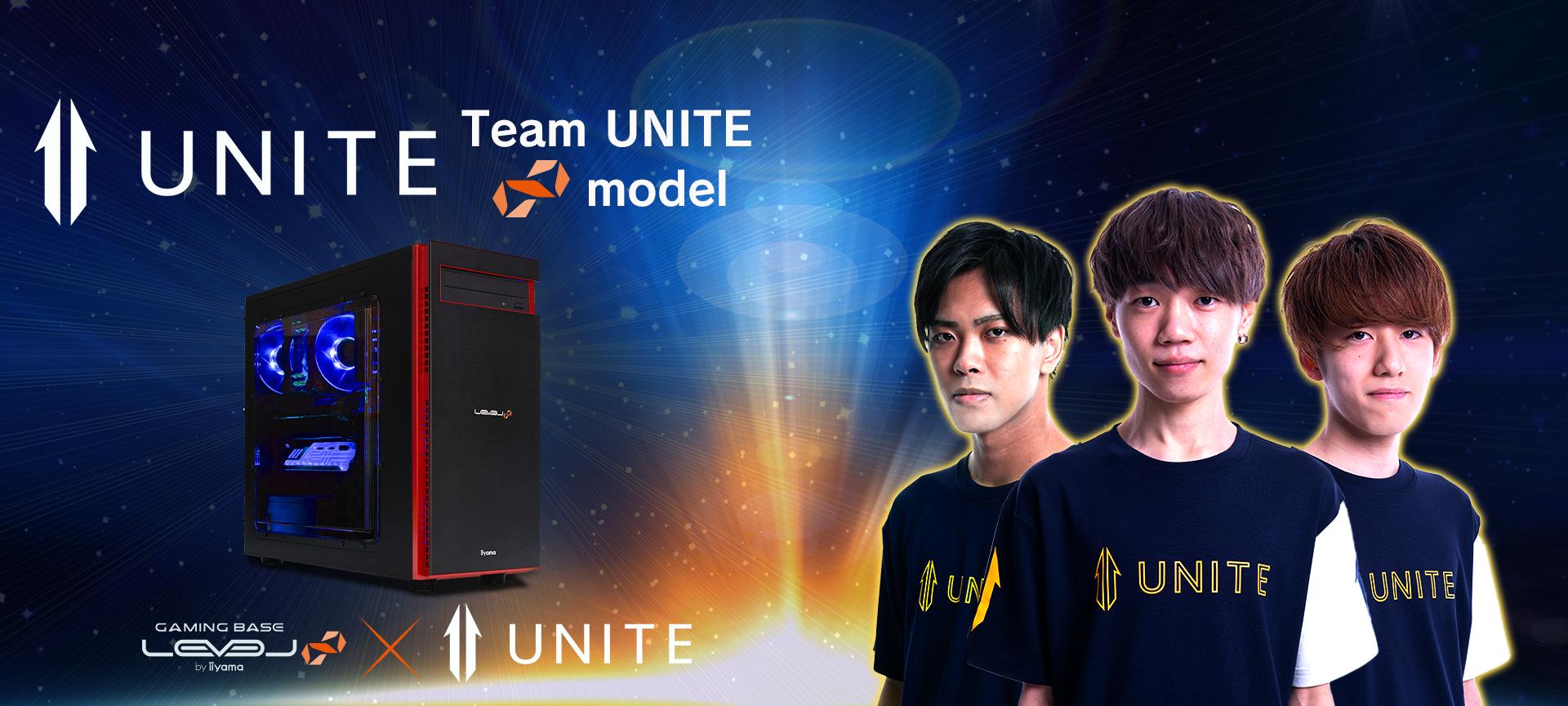 Team UNITE コラボゲーミングPC
