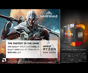 AMD Ryzen 5000 シリーズ_Warframe